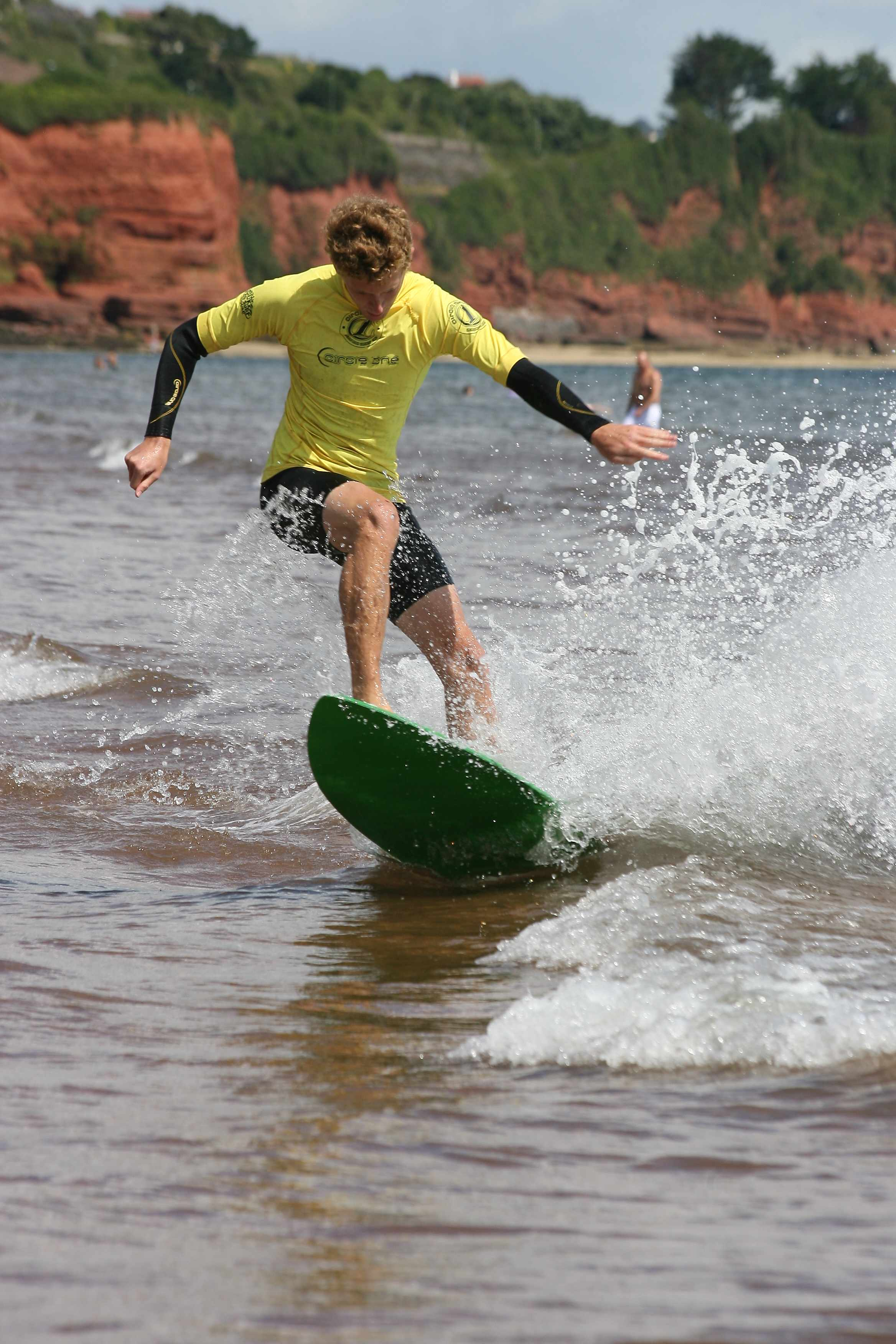 ollie bowen skimboarding sport south devon preston