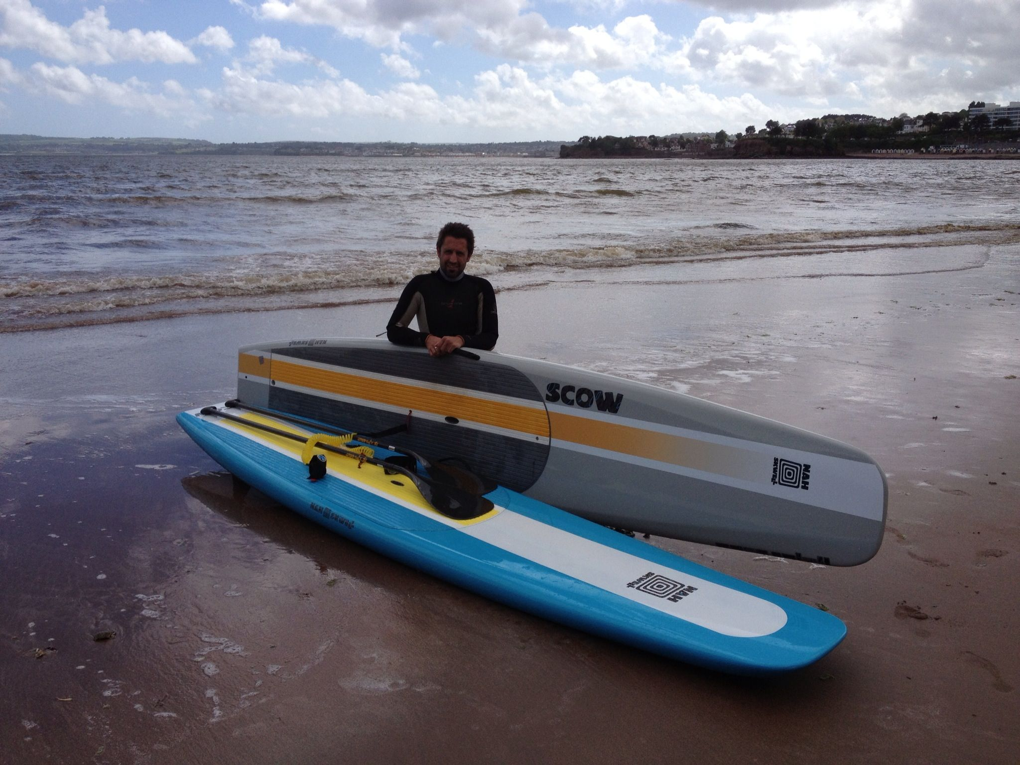 Source To City Paddleboarding SUP Nah-Skwell X-Paddle Phil Sanders Ollie Denton