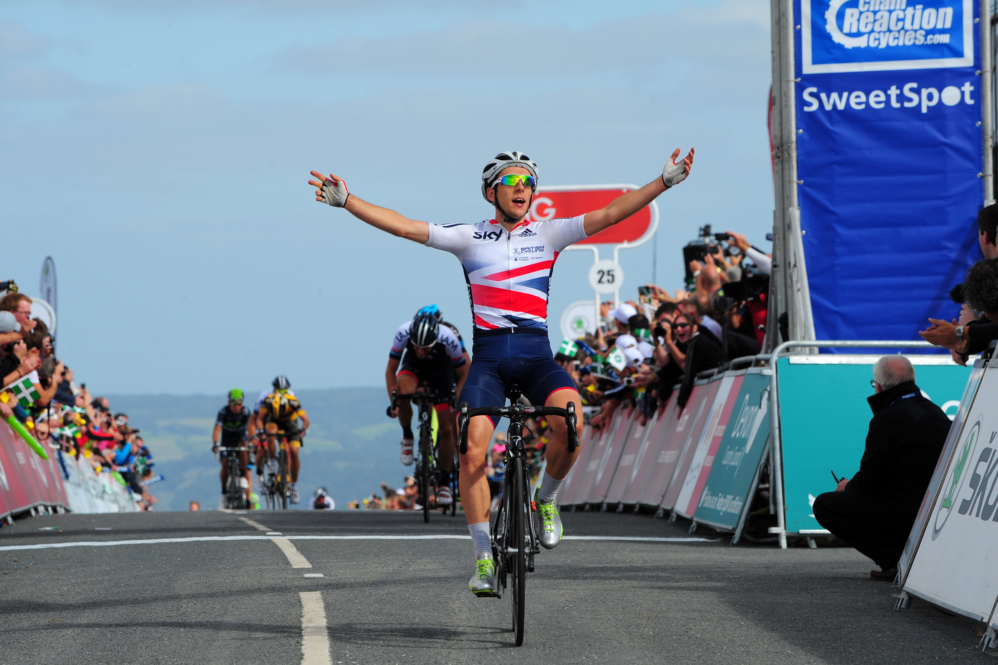 Yates' Waiting Game Pays Dividends in Tour of Britain