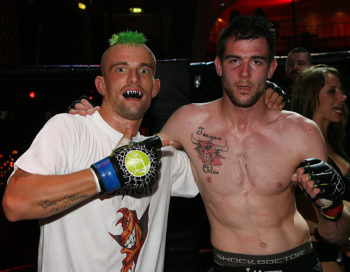 Josh O'Shea MMA Fightworx SWFC7 Sport South Devon