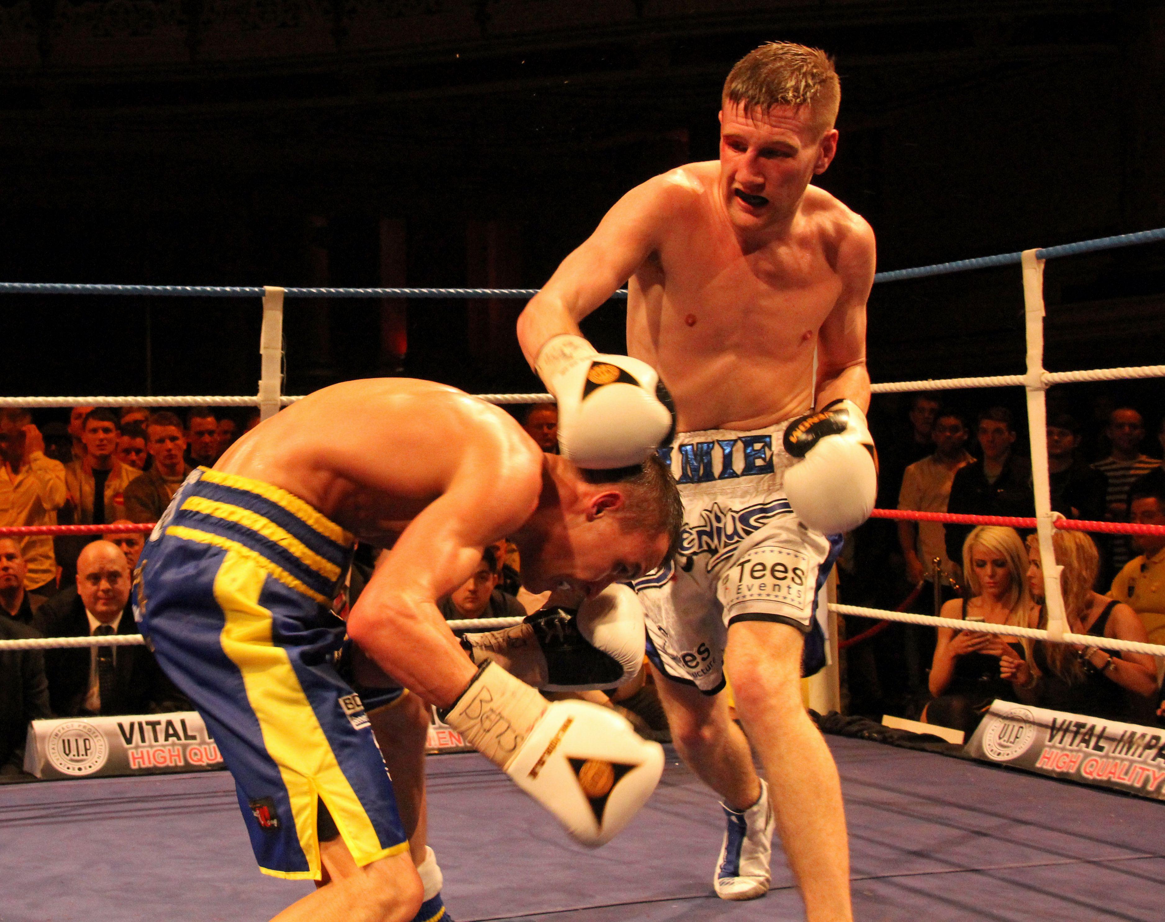Jamie Speight Josh Warrington Sport South Devon Boxing