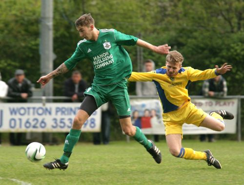 Sean Finch Watcombe Wanderers Buckland Athletic Reserves Sport South Devon Herald Cup Final 2013