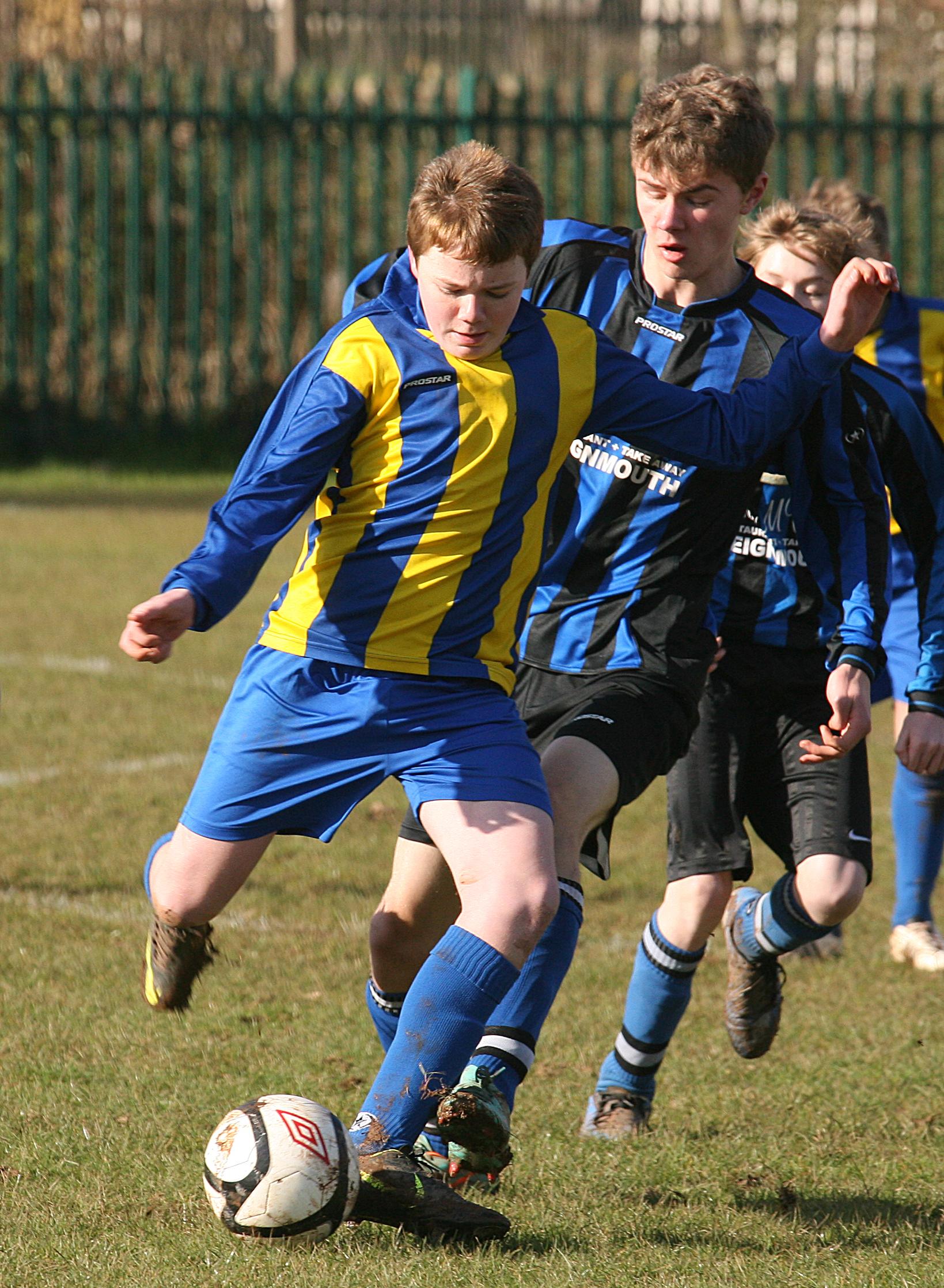 Kingskerswell Colts Broadmeadow STFC Pioneer Youth League Sport South Devon