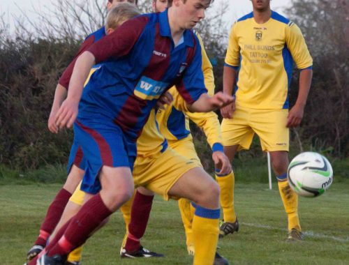Stoke Gabriel Reserves Buckland Athletic Reserves Herald Cup semi-final 2014