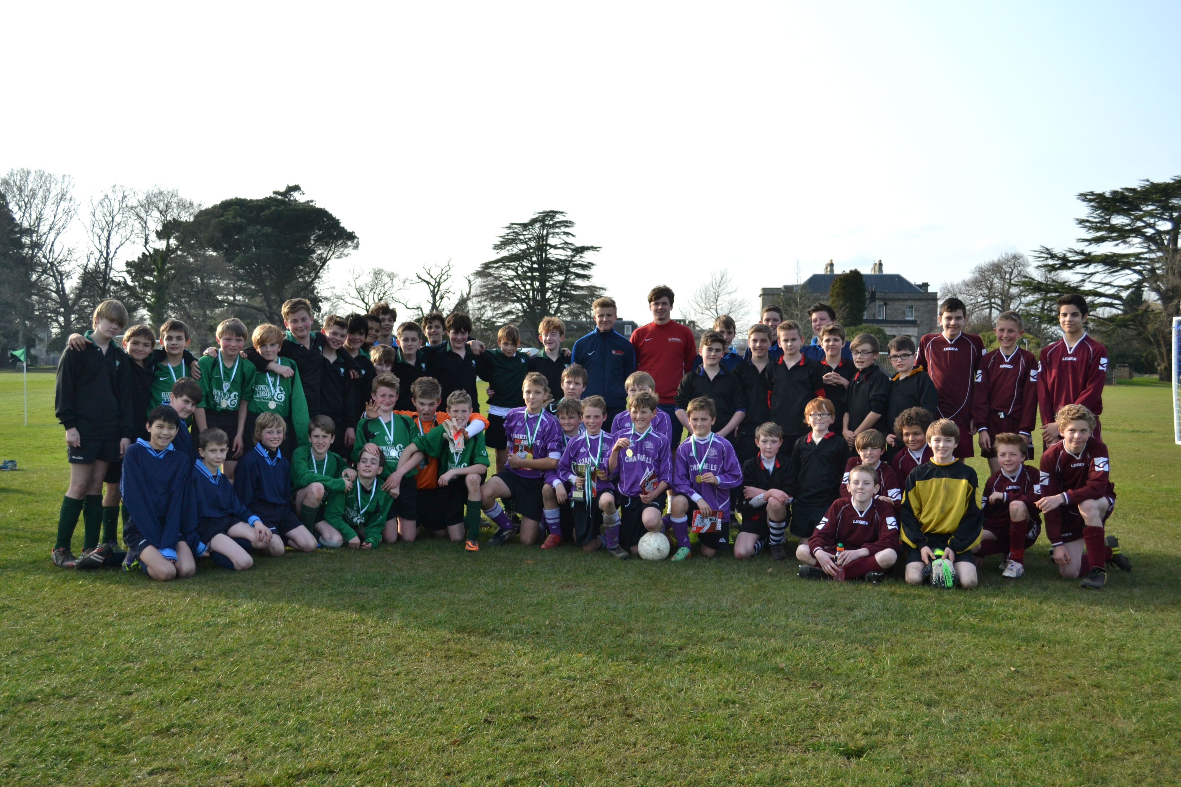 Stover School David James Cup 2014 Sport South Devon