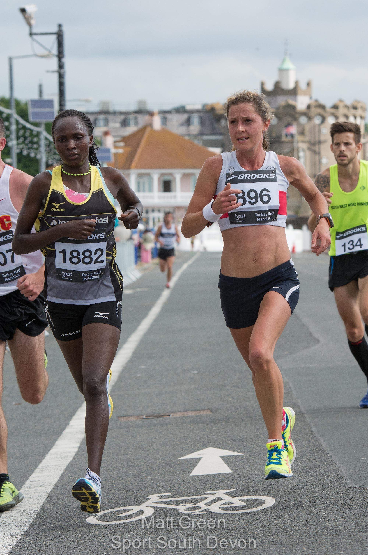 torbay half marathon 2014 gladys yator run fast jenny jagger sport south devon