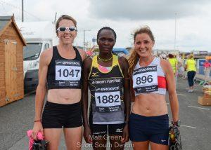torbay half marathon lucy acallister gladys yator jenny jagger run fast sport south devon