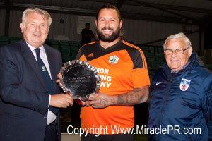 Dennis Smith SDFL Sport South Devon Scott Corderoy Watcombe Wanderers 2014 Throgmorton charity shield Mervyn Benney