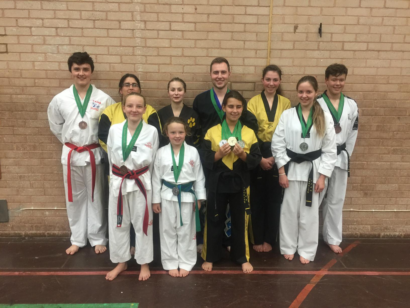 martialarts4fun sport south devon taekwondo southern championships TAGB