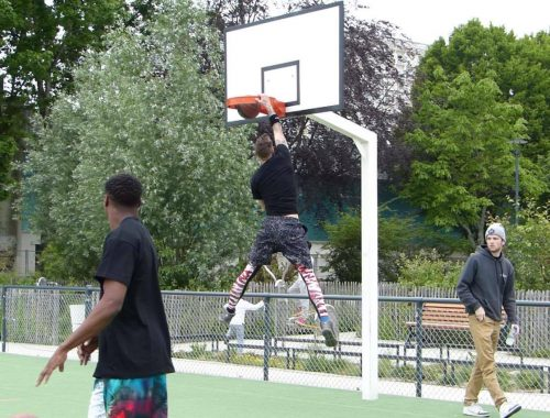 clark agambar-froud sport south devon streetball breaking baskets