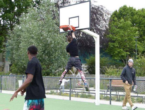 clark agambar-froud sport south devon streetball breaking baskets
