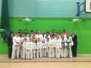 The Coloured Belt Graders from MartialArts4Fun School of Excellence