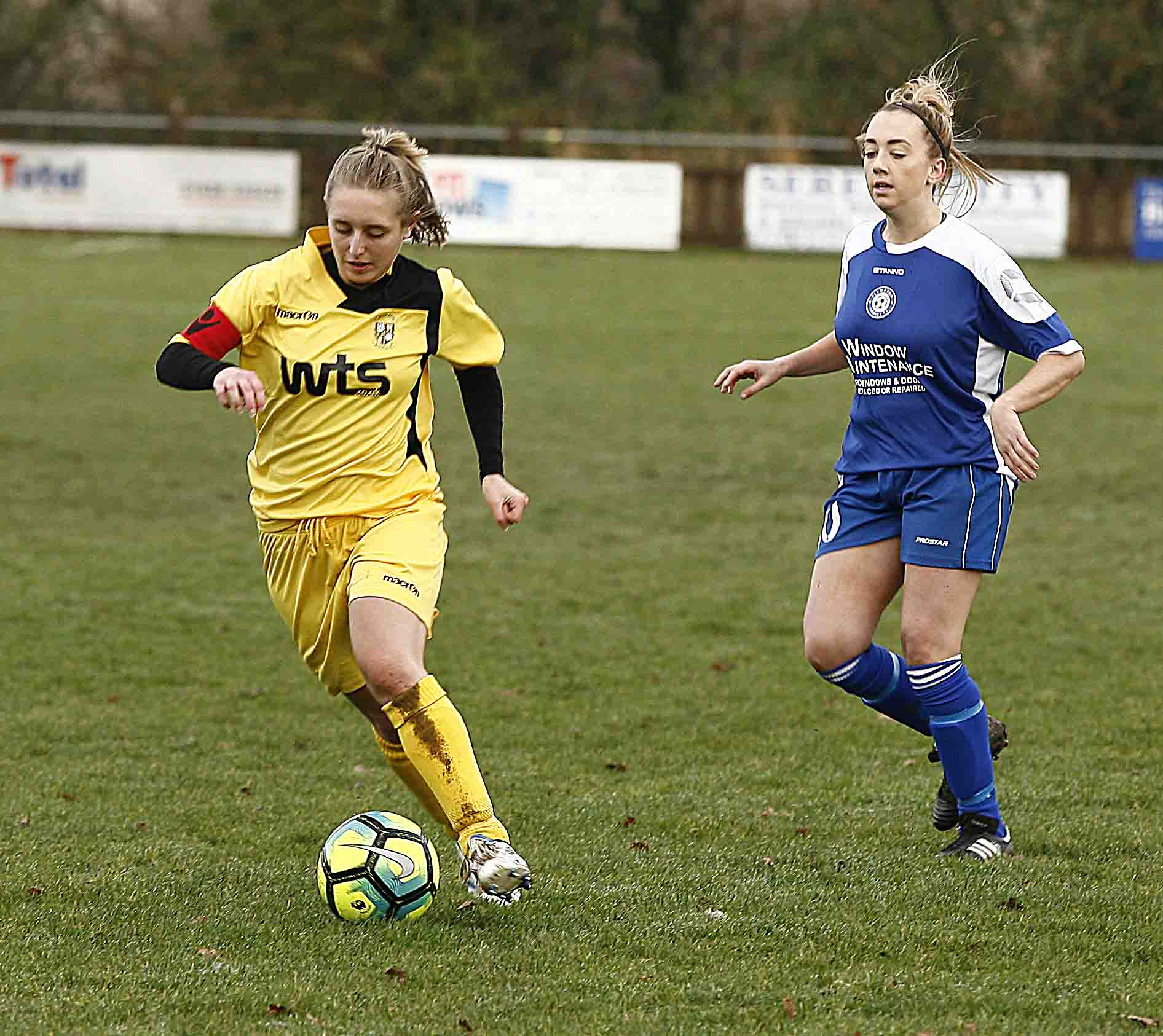 maria warman buckland ladies v plympton ladies