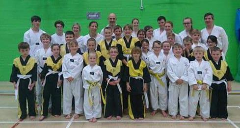 martial arts 4 fun coloured belt grading may 2017